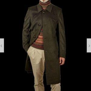SCHNEIDERS SLAZBURG Francesco Loden Wool Coat 44 L